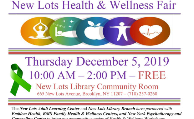 New Lots Library Health and Wellness Fair