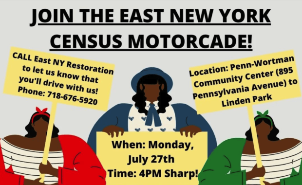 East NY, Brooklyn Census Motorcade
