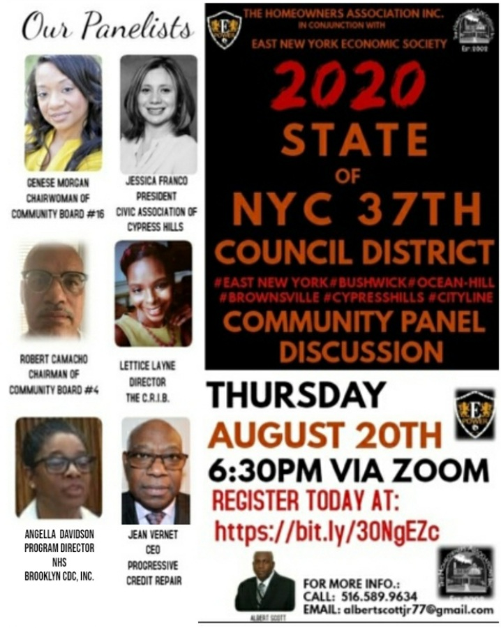 2020 State of NYC 37th Council District Community Panel Discussion