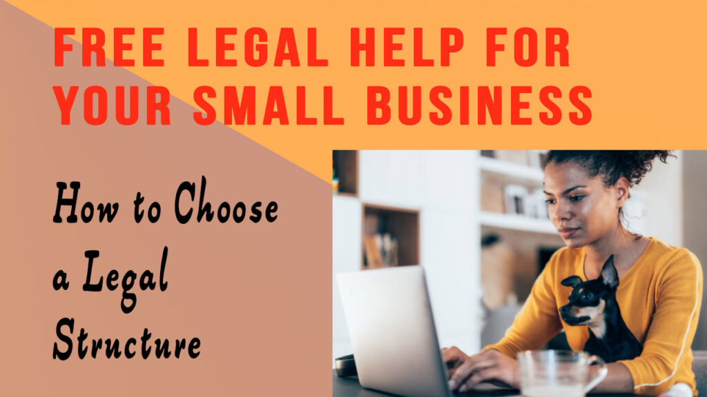 How to Choose a a Legal Structure